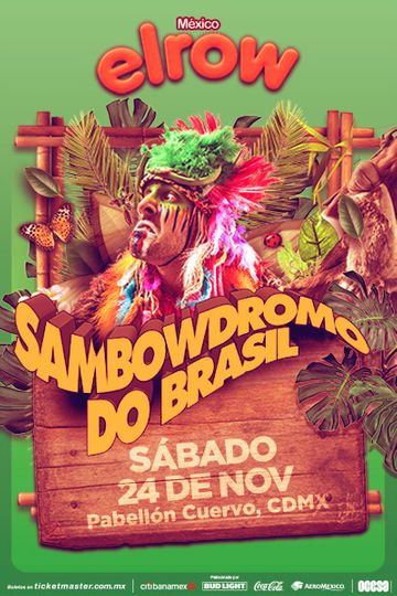 elrow México: Sambowdromo do Brasil