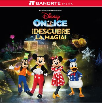 Disney On Ice: Descubre La Magia